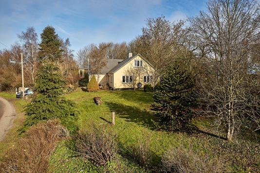 Villa på Bygaden i Skibby - Ejendommen