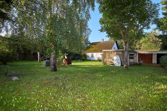 Villa på Kulhusvej i Jægerspris - Have