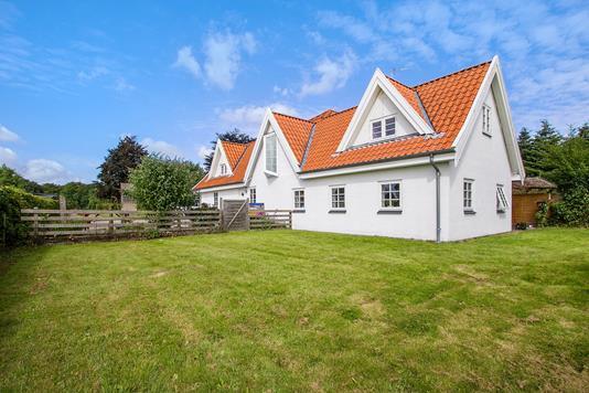 Villa på Broby Overdrev i Sorø - Set fra haven