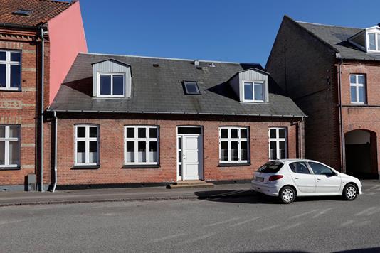 Villa på Saxogade i Sorø - Ejendommen