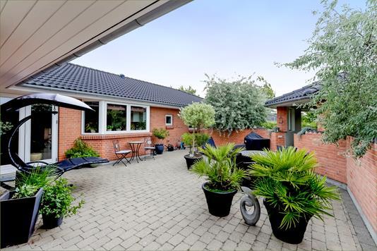 Villa på Færøvej i Dianalund - Terrasse