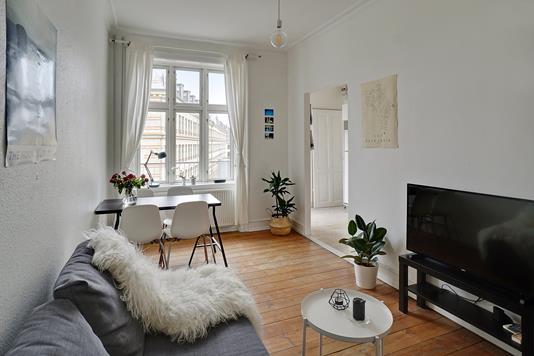Ejerlejlighed på Nørre Sideallé i København N - Stue