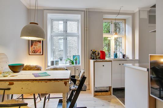 Ejerlejlighed på Peter Fabers Gade i København N - Køkken