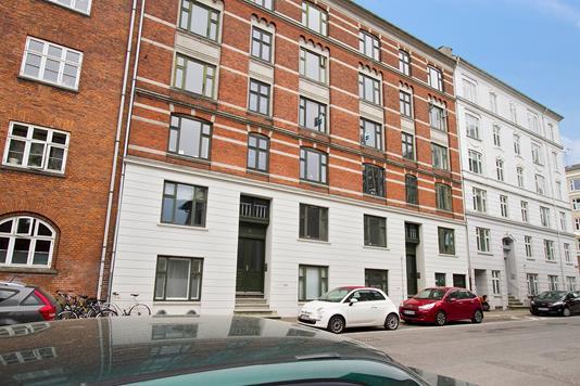 Ejerlejlighed på Nyborggade i København Ø - Facade