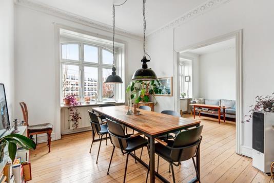 Ejerlejlighed på Møllegade i København N - Spisestue