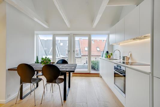 Ejerlejlighed på Røddinggade i København V - Køkken