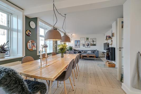 Ejerlejlighed på Møllegade i København N - Køkken