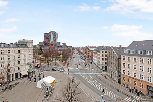 Ejerlejlighed på Sankt Hans Torv i København N - Udsigt