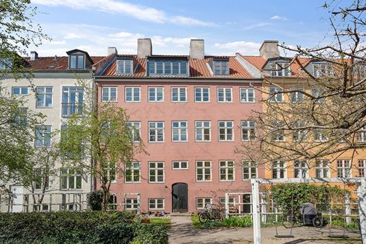 Andelsbolig på Prinsessegade i København K - Facade