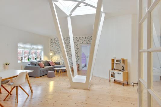 Villa på Gemmas Alle i Kastrup - Stue
