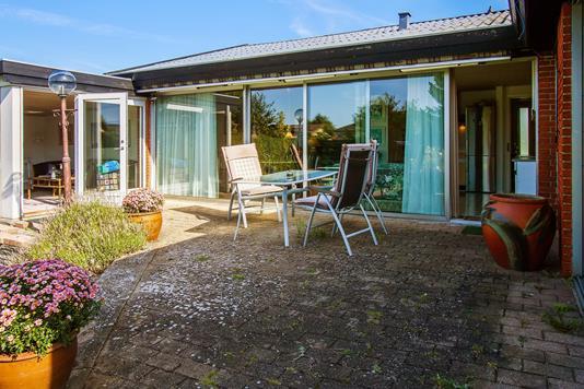 Villa på Nørrevang i Greve - Terrasse