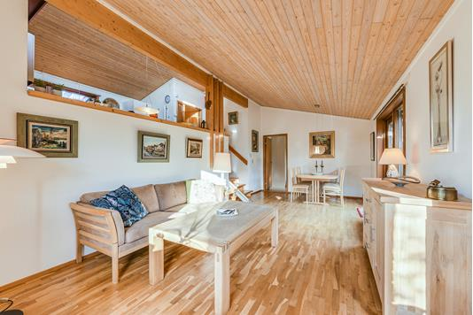 Villa på Ole Larsensvej i Greve - Stue