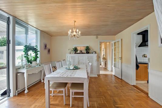 Villa på Krogager i Greve - Stue
