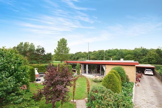 Villa på Sandrøjel i Greve - ejendommen