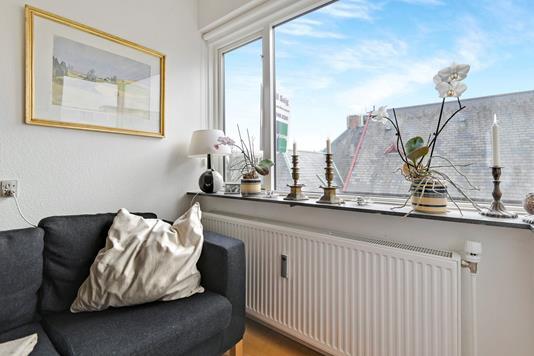 Ejerlejlighed på Østerbrogade i København Ø - Stue