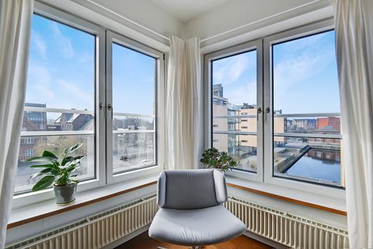 Ejerlejlighed på Midtermolen i København Ø - Stue