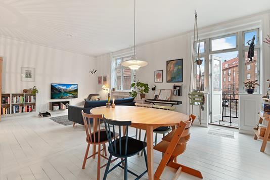 Ejerlejlighed på Rudolph Berghs Gade i København Ø - Stue