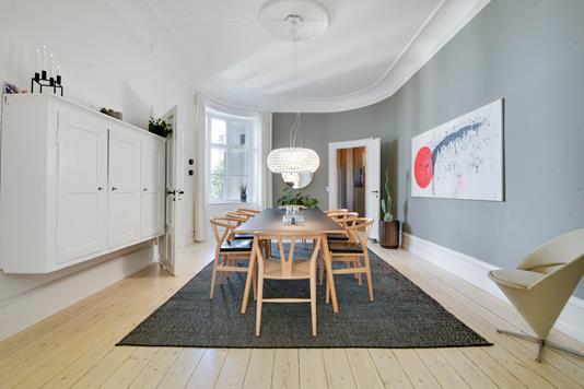 Ejerlejlighed på Malmøgade i København Ø - Spisestue