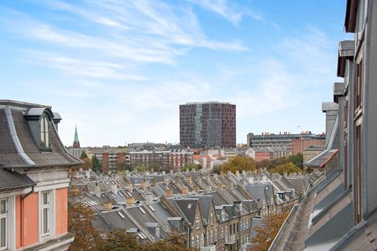 Ejerlejlighed på Lille Farimagsgade i København Ø - Udsigt