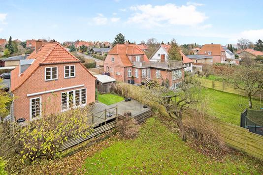 Villa på Ellemosevej i Hellerup - Ejendommen