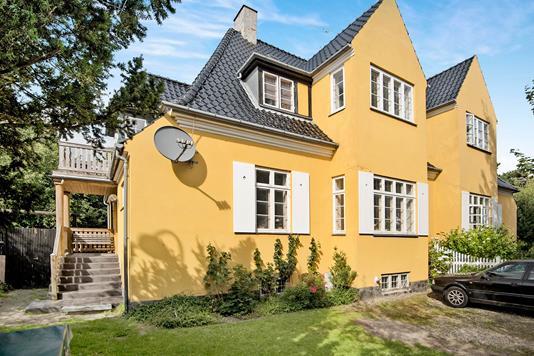 Villa på Ryvangs Alle i Hellerup - Ejendommen