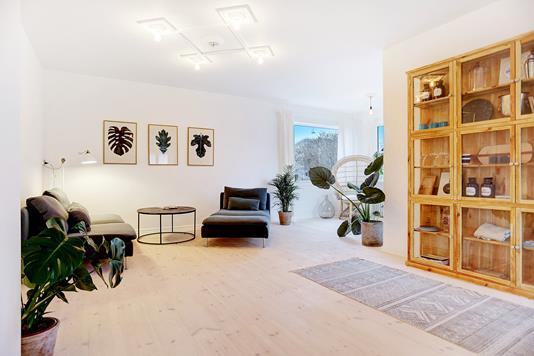 Villa på Lundsfrydvej i Valby - Stue