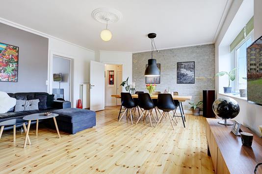 Ejerlejlighed på Johan Kellers Vej i København SV - Stue