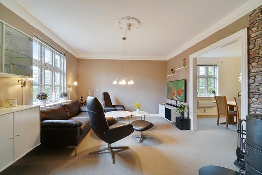 Villa på Dalbyvej i Brønshøj - Stue