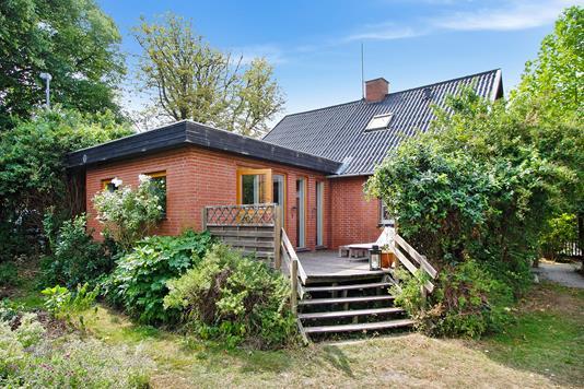 Villa på Brønshøjvej i Brønshøj - Set fra haven