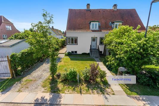 Villa på Højstrupvej i Brønshøj - Facade
