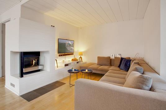 Villa på Dyssevænget i Brønshøj - Stue