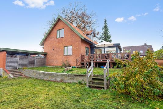 Villa på Dyssevænget i Brønshøj - Set fra haven