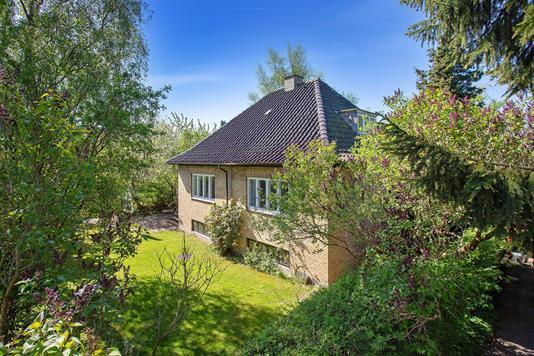 Villa på Krogebjerg i Vanløse - Set fra haven