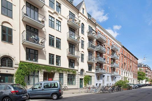 Ejerlejlighed på Dybbølsgade i København V - Ejendommen