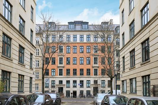 Andelsbolig på Hedebygade i København V - Ejendommen