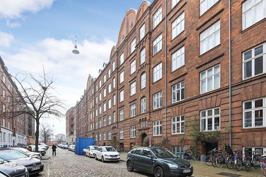 Ejerlejlighed på Asger Rygs Gade i København V - Ejendommen