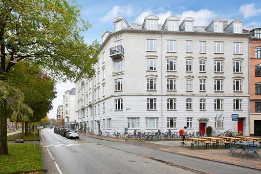 Ejerlejlighed på Sønder Boulevard i København V - Ejendommen