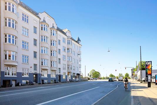 Andelsbolig på Enghavevej i København V - Ejendommen