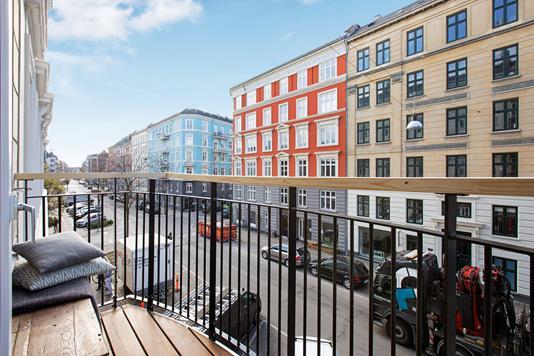 Ejerlejlighed på Dybbølsgade i København V - Altan