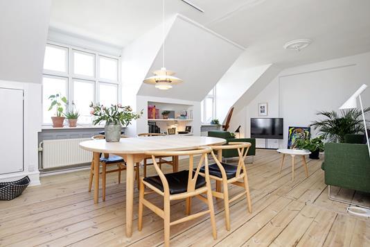 Ejerlejlighed på Sankelmarksgade i København V - Stue
