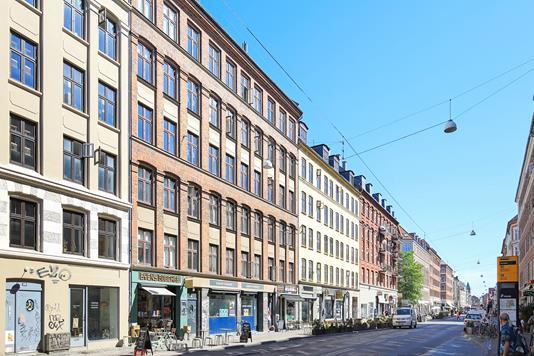 Andelsbolig på Istedgade i København V - Ejendommen