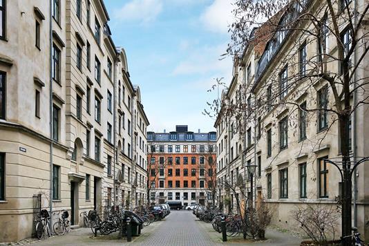 Andelsbolig på Ballumgade i København V - Ejendommen
