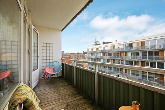 Ejerlejlighed på Matthæusgade i København V - Altan