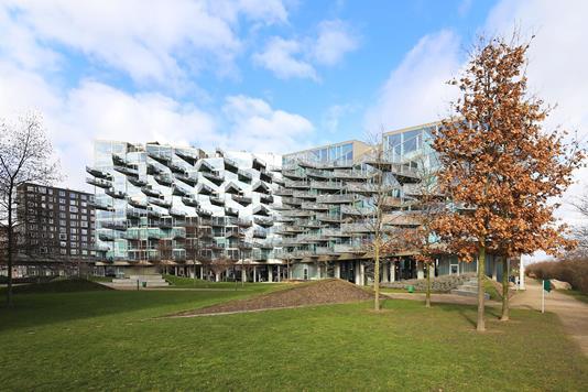 Ejerlejlighed på Ørestads Boulevard i København S - Ejendommen
