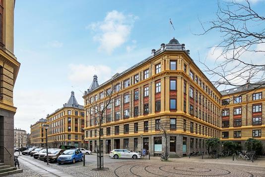 Andelsbolig på Skydebanegade i København V - Ejendommen