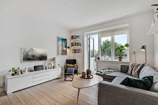 Ejerlejlighed på Fogedmarken i København N - Stue