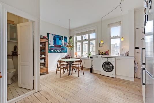 Ejerlejlighed på Ahlmannsgade i København N - Køkken