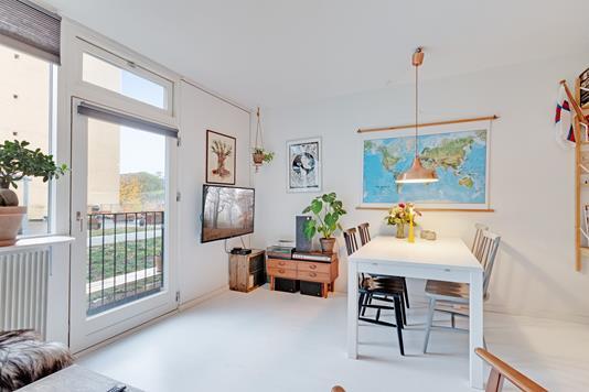 Ejerlejlighed på Blågårdsgade i København N - Stue