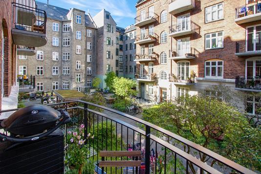 Ejerlejlighed på Julius Bloms Gade i København N - Altan
