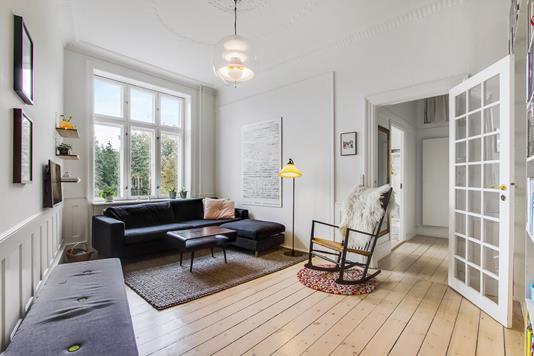 Ejerlejlighed på Jagtvej i København N - Stue